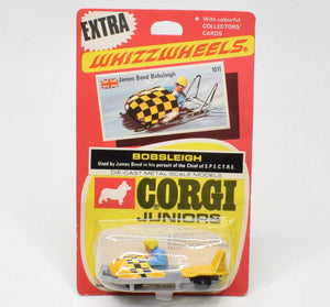 Corgi Junior 1011 James Bond Bobsleigh Mint/boxed ('The Lane' Collection)