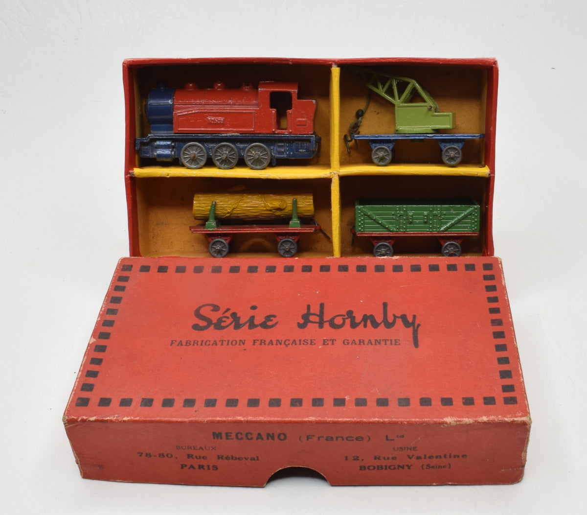 French Hornby Series No.21 Train set Very Near Mint/Boxed