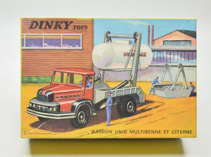 French Dinky 805 Unic Multi Skip & Gas Tanker Very Near Mint/Boxed 'Brecon' Collection Part 2