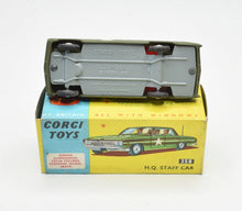 Corgi toys 358 H.Q Staff Car Very Near Mint/Boxed