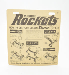 Corgi Rockets 924 Mercury Cougar OHMSS Virtually Mint/Boxed ('The Lane' Collection)