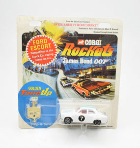 Corgi Rockets 923 Ford Escort OHMSS Very Near Mint/Boxed ('The Lane' Collection)