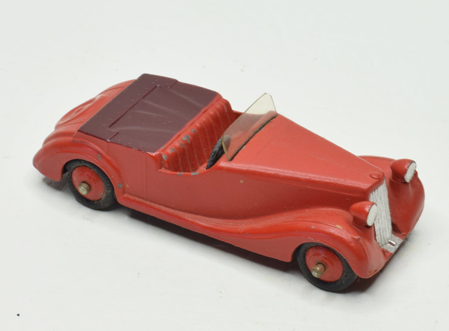 Dinky Toys 38b Sunbeam-Talbot Very Near Mint Brecon' Collection Part 2 (matte red)