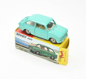 French Dinky Poch 509 Fiat 850 Very Near Mint/Boxed