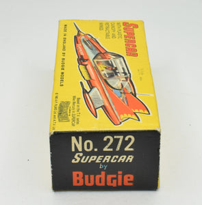 Budgie Toys 272 Supercar Very Near Mint Box.
