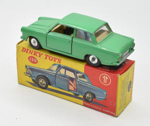 Dinky Toys 139 'South African' Ford Cortina Very Near Mint/Boxed