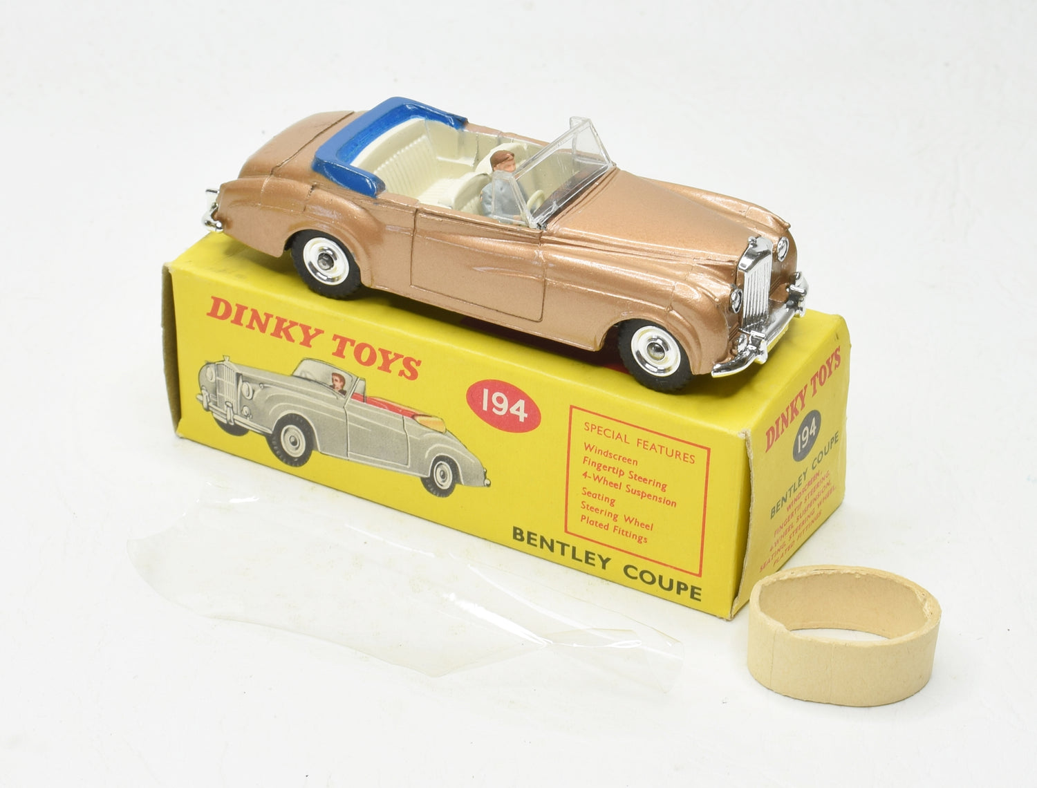 Dinky Toys 194 Bentley Coupe Virtually Mint/Boxed