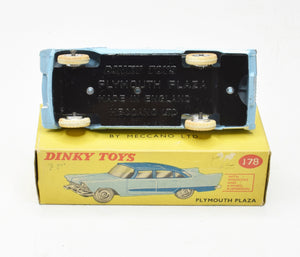 Dinky toys 178 Plymouth Plaza Near Mint/Boxed (Sky Blue)