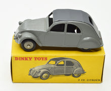 French Dinky Toys 24T Citroen 2cv Very Near Mint/Boxed 'Brecon' Collection Part 2 (Scarce issue)