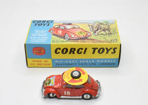 Corgi toys 256 VW East Africa Safari Virtually Mint/Boxed (Left Hand Drive) The 'Geneva' Collection