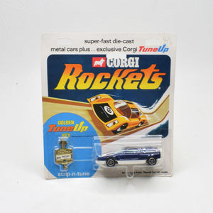 Corgi Rockets 909 Mercedes c111 Very Near Mint/Blistered The 'Geneva' Collection