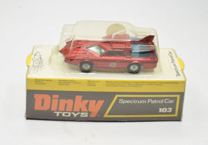 Dinky toys 103 Spectrum Patrol Car Virtually Mint/Boxed (Unopened)