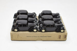 French Dinky 24N Citroen 11BL Trade pack of 6
