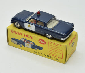 Dinky toys 264 R.C.M.P Patrol Very Near Mint/Boxed