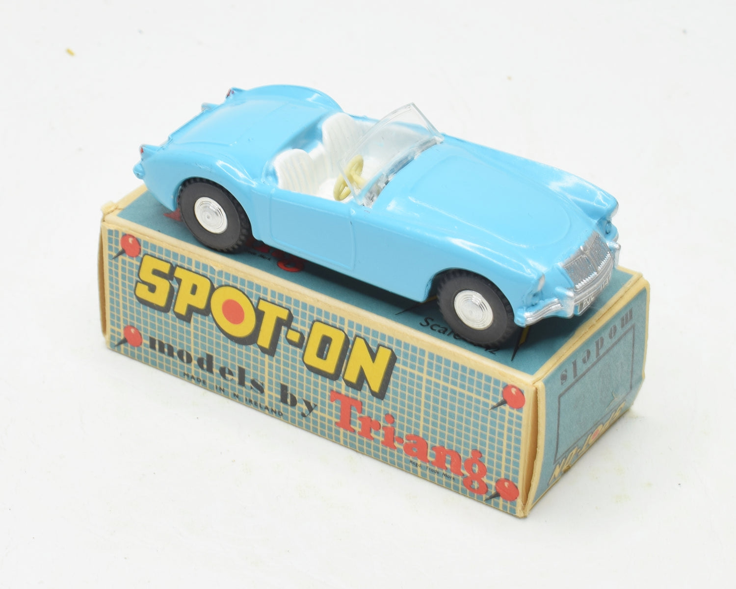 Spot-on 104 MGA Virtually Mint/Boxed (Light blue)