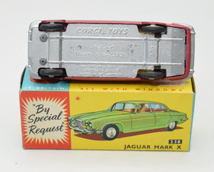 Corgi toys 238 Mark X Jaguar Virtually Mint/Boxed 'Cotswold' Collection Part 2.