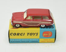 Corgi toys 491 Ford Consul Estate Virtually Mint/Boxed The 'Geneva' Collection