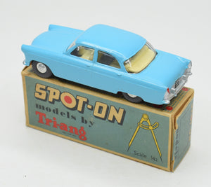 Spot-on 100 Ford Zodiac Very Near Mint/Boxed (Stunning bright blue)
