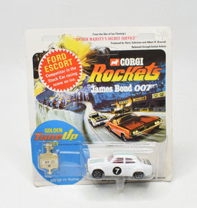 Corgi Rockets 923 Ford Escort OHMSS Very Near Mint/Boxed The 'Geneva'Collection