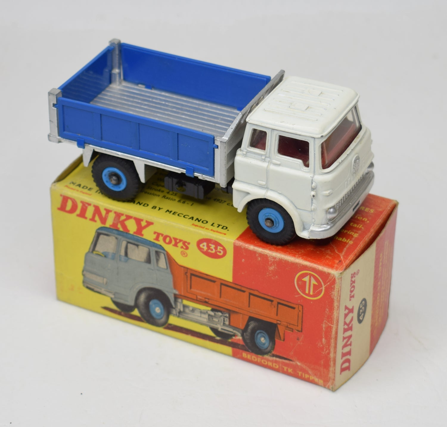 Dinky toy 435 Bedford TK Tipper Very Near Mint/Boxed