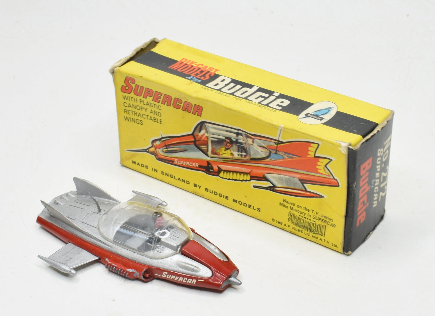 Budgie 272 Supercar Near Mint/Boxed 'The Lane' Collection