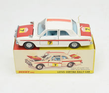 Dinky Toys 205 Lotus Cortina Rally Car Very Near Mint/Boxed The 'Geneva' Collection