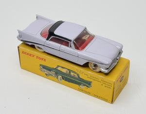 French Dinky 550 Chrysler Saratoga Very Near Mint/Boxed 'Brecon' Collection Part 2