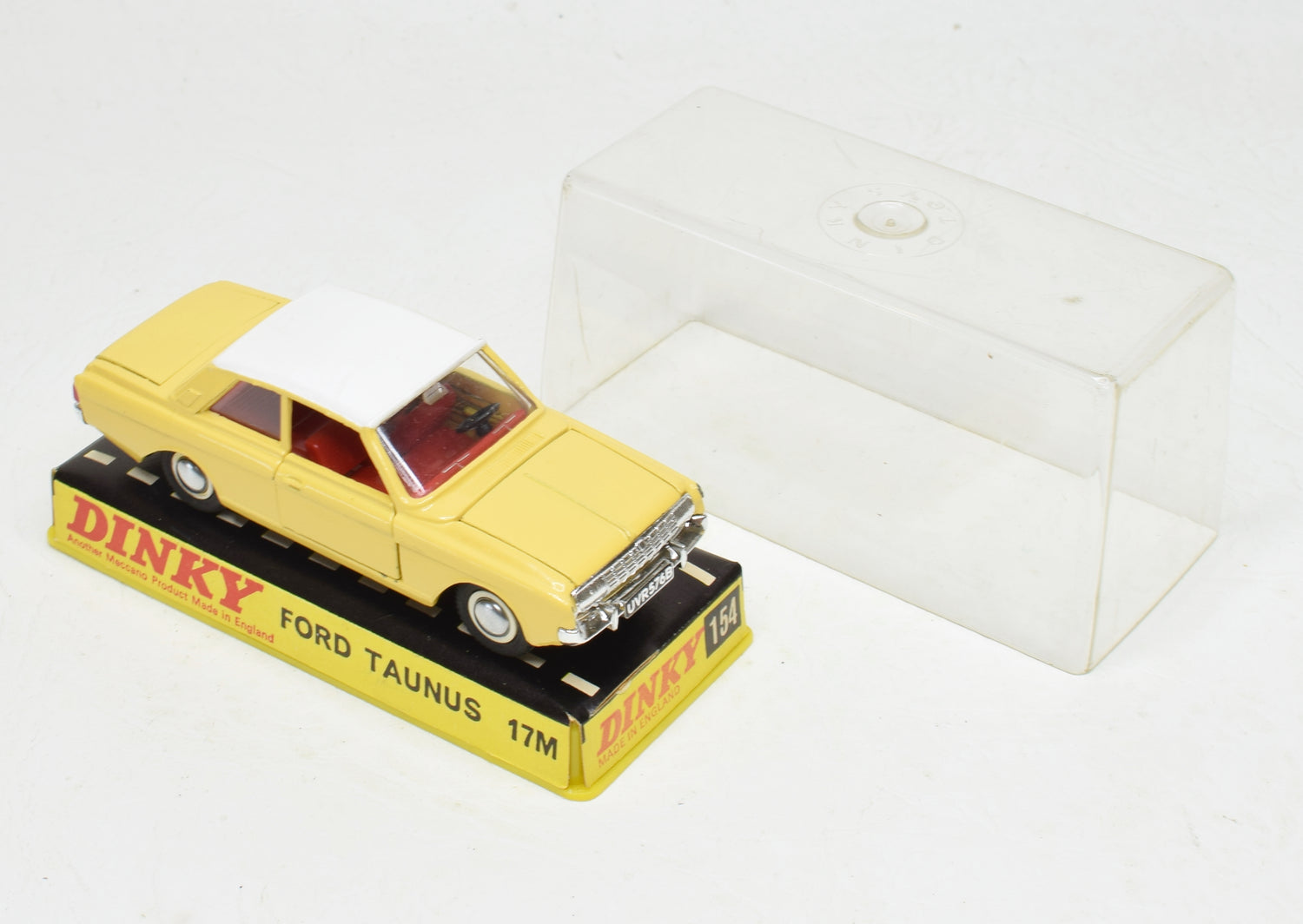 Dinky toy 154 Ford Taunus Very Near Mint/Boxed The 'Geneva' Collection