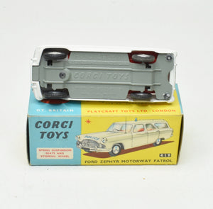 Corgi toys 419 Ford Zephyr Virtually Mint/Boxed The 'Geneva' Collection