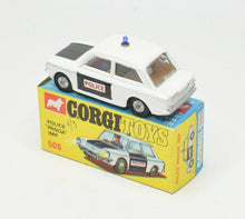 Corgi Toys 506 Police 'Panda' Imp Very Near Mint/Boxed The 'Geneva' Collection