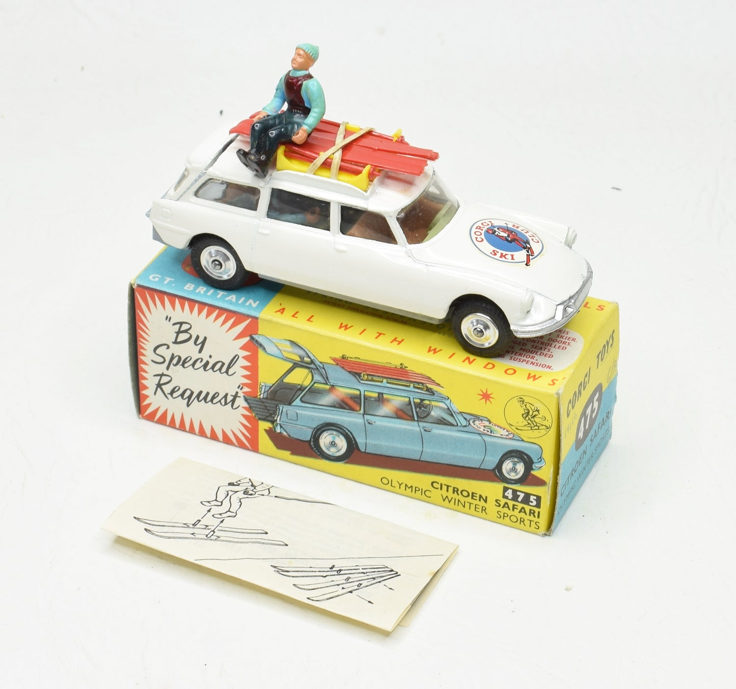 Corgi toys 475 Citroen Safari 'Corgi Ski Club' Virtually Mint/Boxed