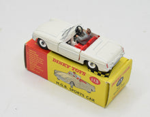 Dinky Toys 113 M.G.B Sports car Virtually  Mint/Boxed 'Cotswold' Collection Part 2