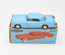 Mercury toys Art 4 Ford Continental Very Near Mint/Boxed The 'Valencia' Collection