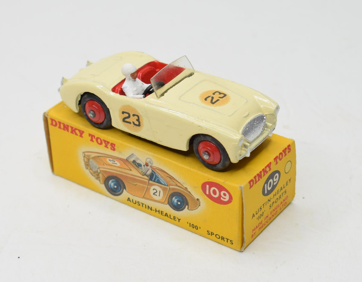Dinky 109 Austin Healey '100' Sports Very Near Mint/Boxed
