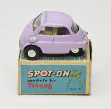 Spot-on 118 BMW Isetta Very Near Mint/Boxed (Mauve)