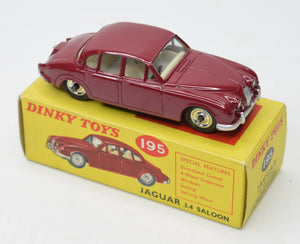 Dinky Toys 195 Jaguar 3.4 Very Near Mint/Boxed 'Cotswold' Collection Part 2