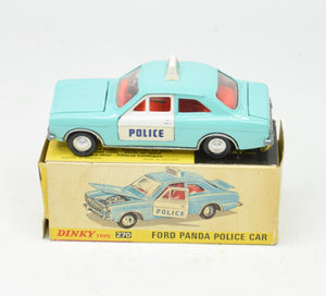 Dinky toys 270 'Police' Ford Escort Very Near Mint/Boxed The 'Geneva' Collection