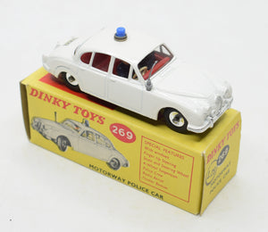 Dinky toys 269 Motorway Police Car Virtually Mint/Boxed 'Cotswold' collection Part 2