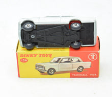 Dinky toys 136 Vauxhall Viva Virtually Mint/Boxed (New The 'Carlton' Collection)