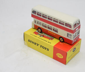 Dinky 292 Leyland Atlantean Bus 'RIBBLE' Old Shop stock (Final example 4 of 4)
