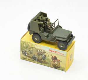 French Dinky 828 Jeep with SS10 Virtually Mint/Boxed (New The 'Carlton' Collection)