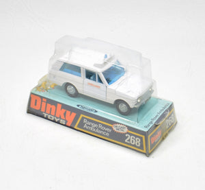 Dinky Toys 268 Range Rover Ambulance Virtually Mint/Boxed The 'Geneva' Collection