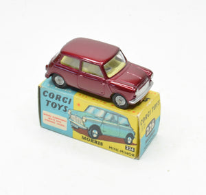Corgi Toys 226 Mini Minor Very Near Mint/Boxed The 'Geneva' Collection