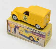 Dinky Toys 562H'Wegenwacht' 2 CV Citroen Very Near Mint/Boxed (Adhesive label & model specific box) 'Wynyard' Collection