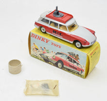 French Dinky 1404 Citroen ID19 Estate Car 'RTL' Very Near Mint/Boxed 'Wynyard' Collection