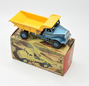 Benbros Euclid Rear Dump Truck Very Near Mint/Boxed