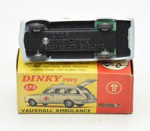 Dinky toys 278 Vauxhall Victor Ambulance Virtually Mint/Boxed The 'Geneva' Collection