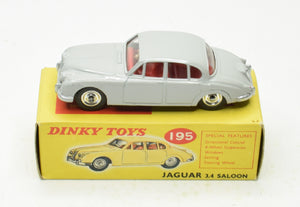 Dinky Toys 195 Jaguar 3.4 Very Near Mint/Boxed The 'Carlton' Collection