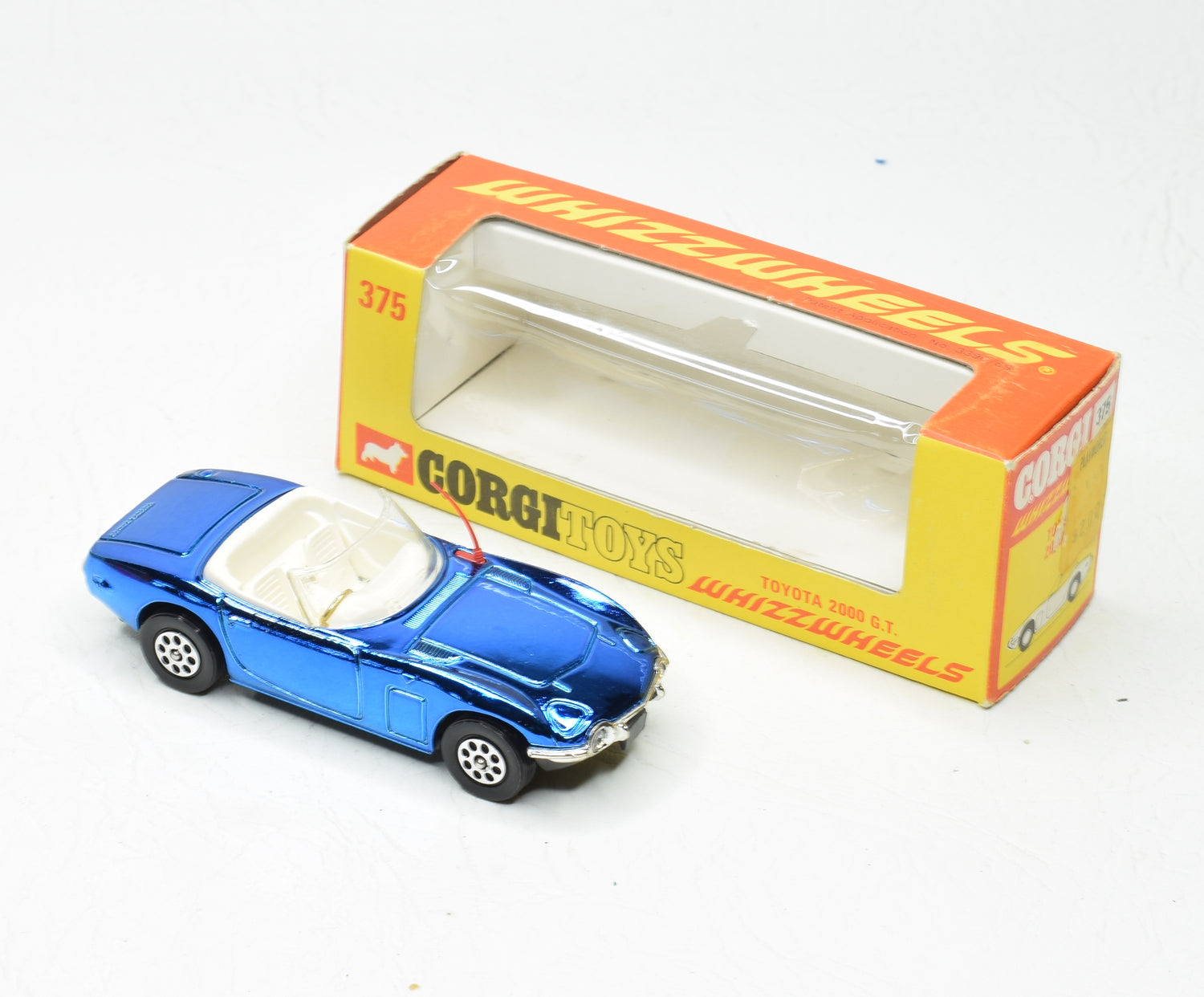 Corgi toys 375 Toyota 2000 G.T Virtually Mint/Boxed
