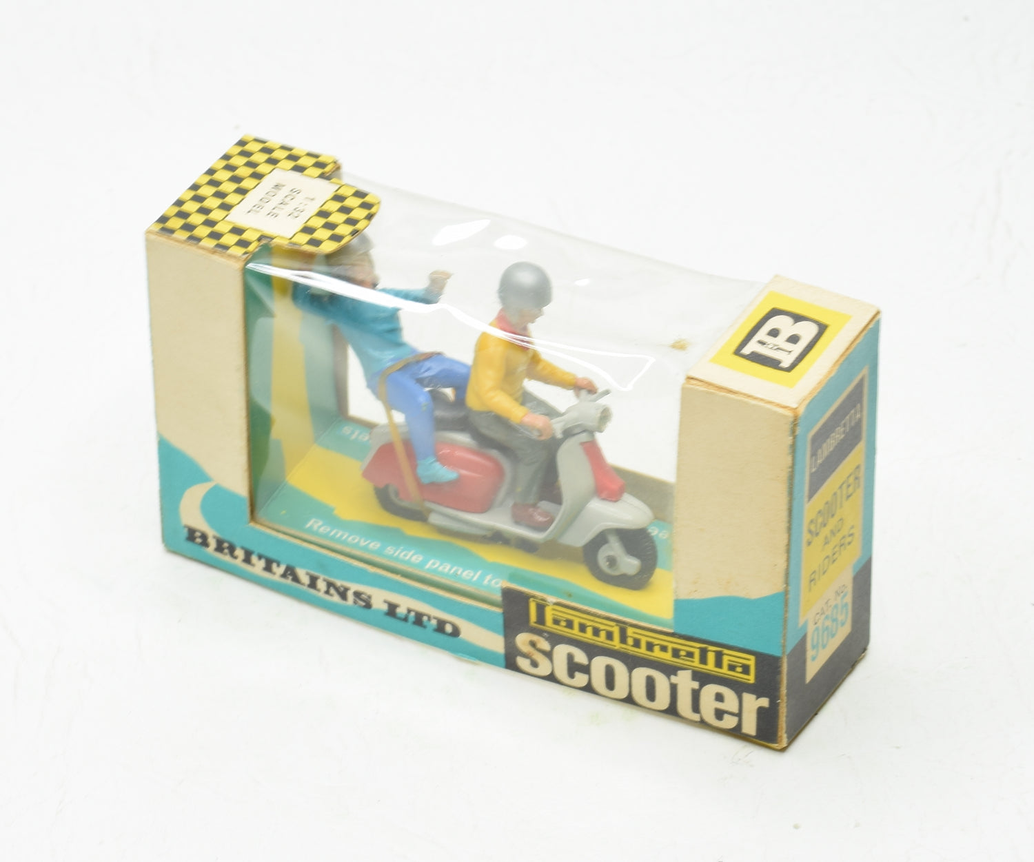 Britain's 9685 Lambretta Scooter Virtually Mint/Boxed (New The 'Wickham' Collection